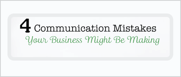 Business Communication Mistakes to Avoid