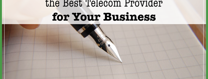Choose Best Telecom Provider Business