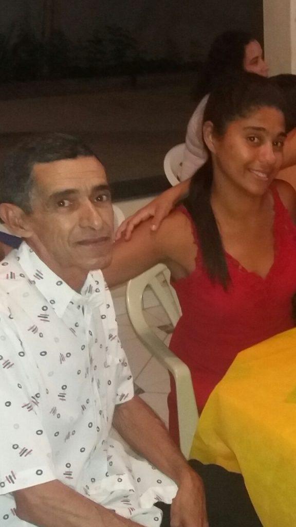 Generino e sua filha Fernanda