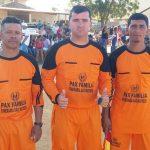 Arbitro Dom e auxiliares