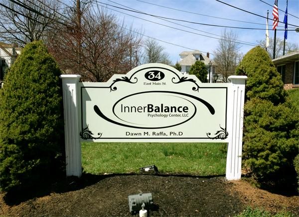 Inner Balance Sign