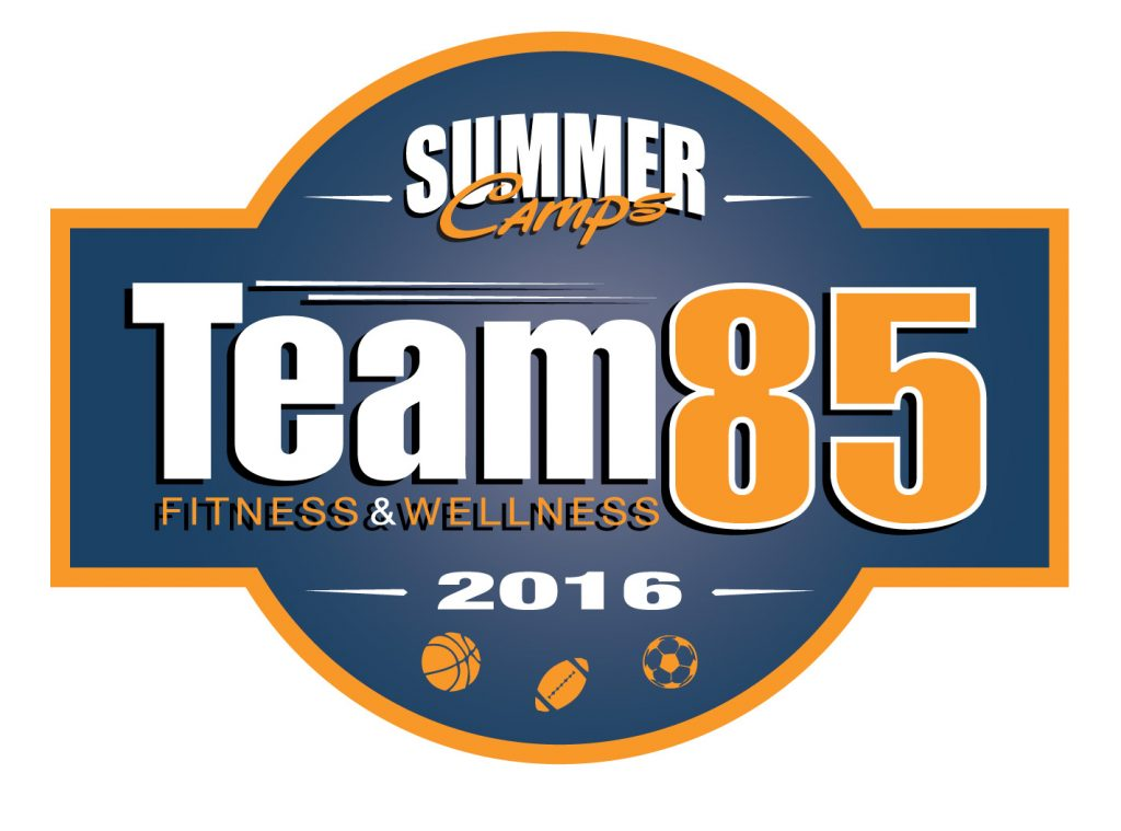 branding team85 summer camp