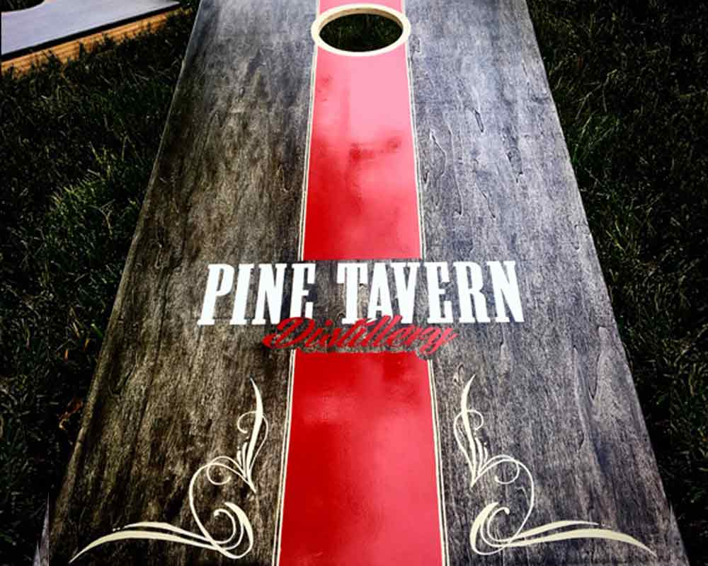 pinstriping corn hole