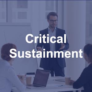 SCI Critical Sustainment Services