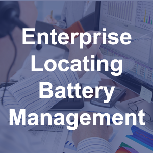 Enterprise Locating Battery Management