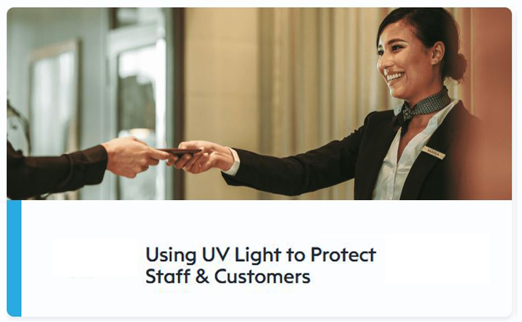 Use UV Light To Protect Staff Customers