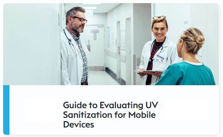 download the guide to evaluating uv sanitization for mobile devices