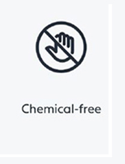 the cleansalte uv is chemical free