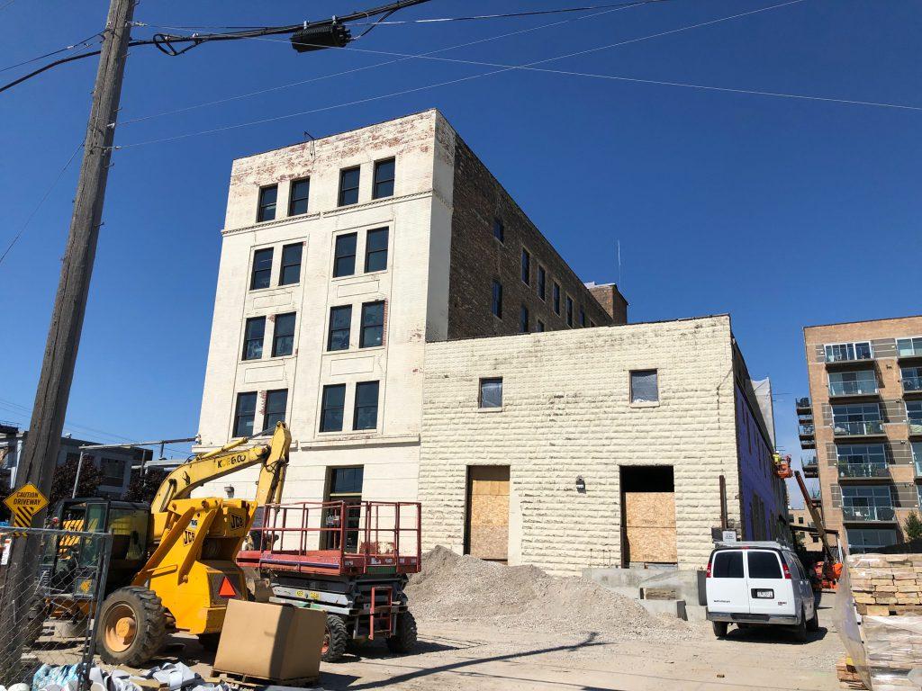 Maxwell Lofts Construction
