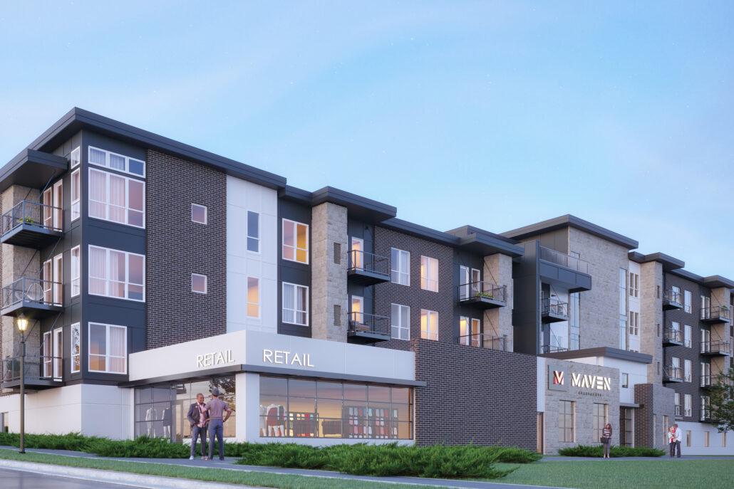 Maven Apartments rendering