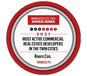 Roers Cos. Ranks Third on Minneapolis/St. Paul Business Journal List of Most Active Commercial Real Estate Developers