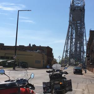 Lift bridge. Duluth,  MN