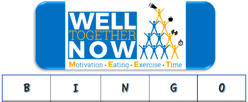 Well Together at Home Series: Family Fitness BINGO