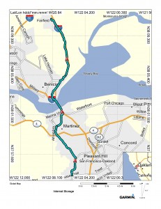 Map (Lafayette to Cordelia)