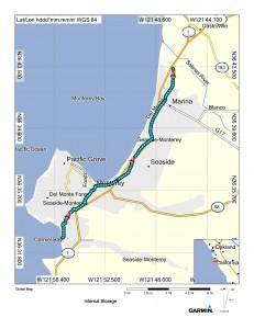 Map (Carmel to Marina)