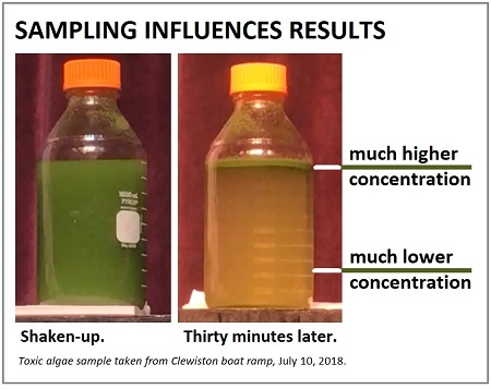 Before and After: How Sample Location Can Change Toxicity Results