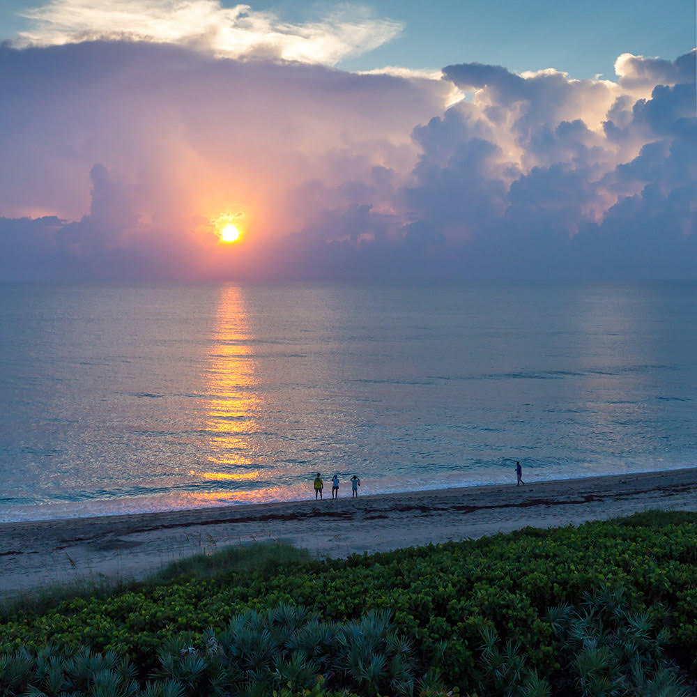 The sun sets over another toxic summer on the Treasure Coast