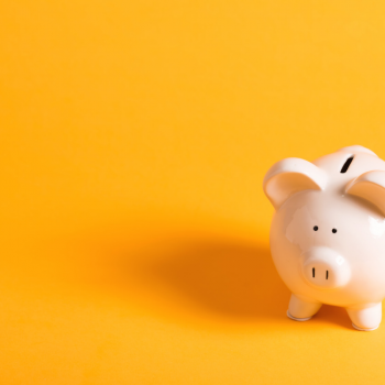 Piggy Bank showing cost savings from treatment of sleep apnea