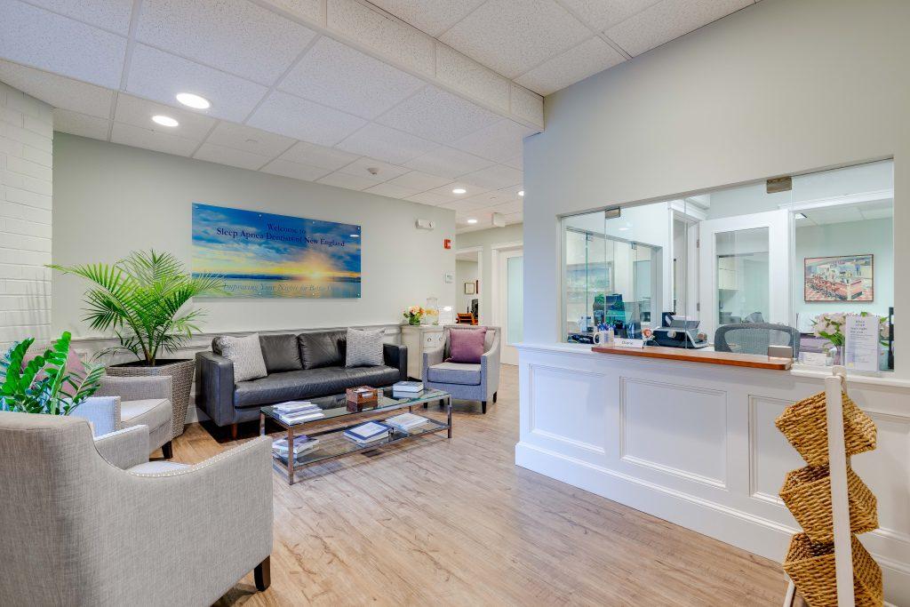 Reception Area at Sleep Apnea Dentists of New England