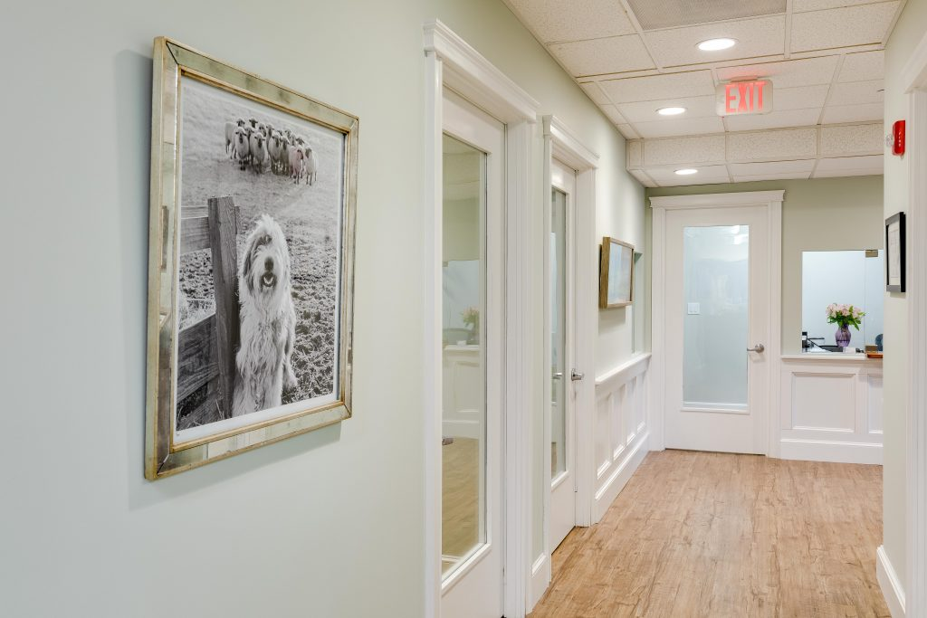 Sleep Apnea Dentists of New England Hallway