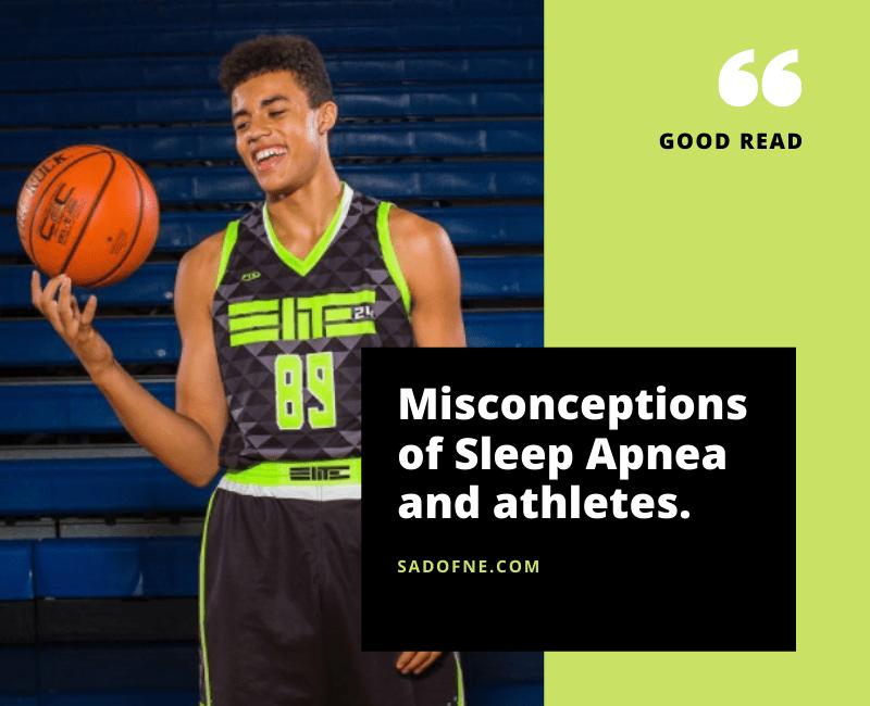 Athletes and Sleep Apnea