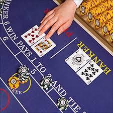 바카라 테이블을 보여주는사진