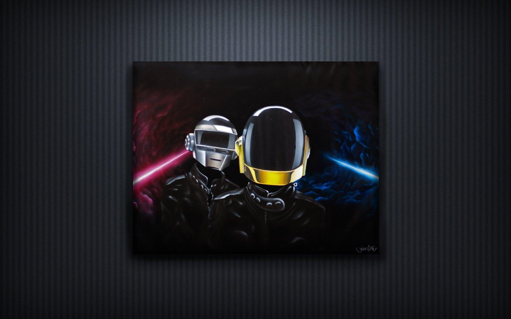 Daft Punk - Airbrush by Yolocone