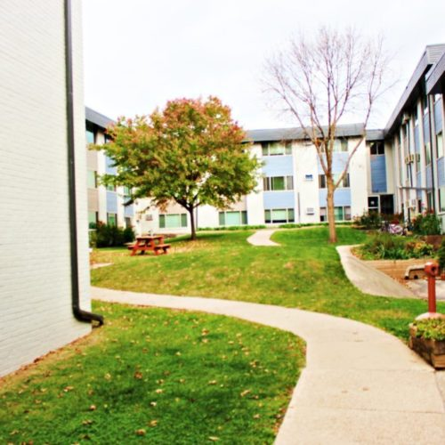 Element on Main Courtyard in Urbana