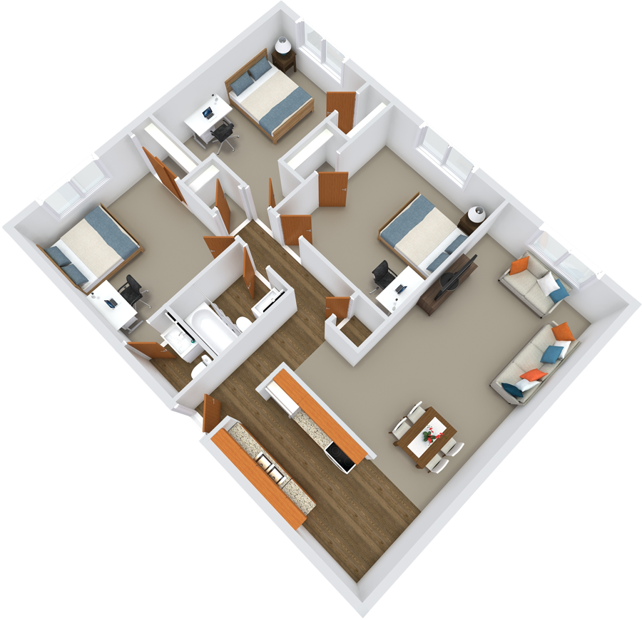 Element on Main Floor Plans