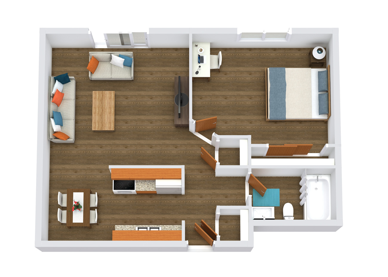 element apartments floor plans 1x1