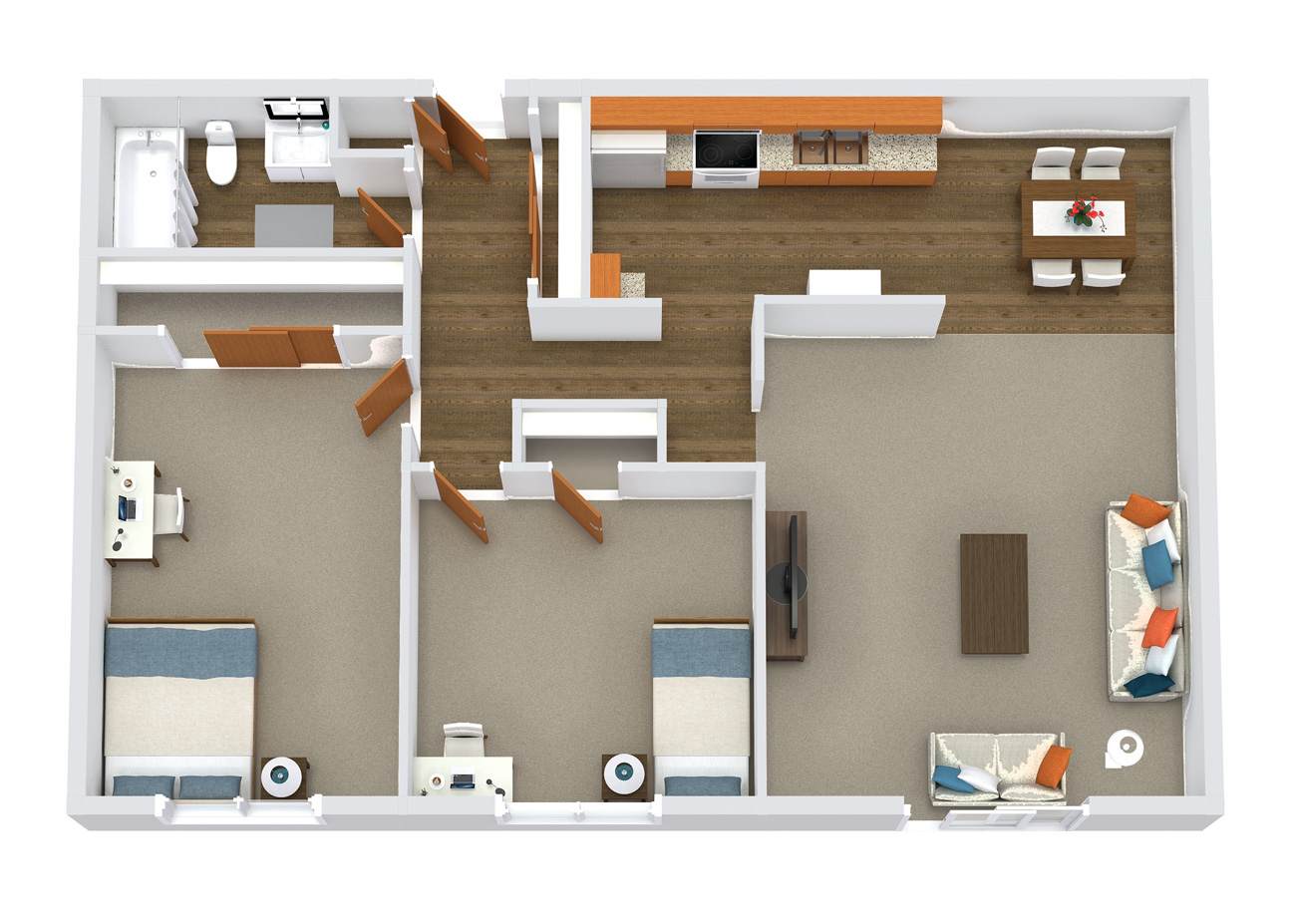 element apartments floor plans 2x1