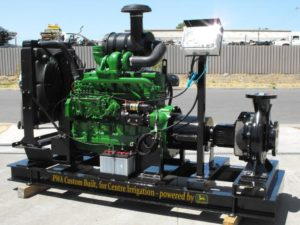 JohnDeere skid pump