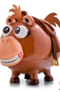 tiro al blanco toy story caballo