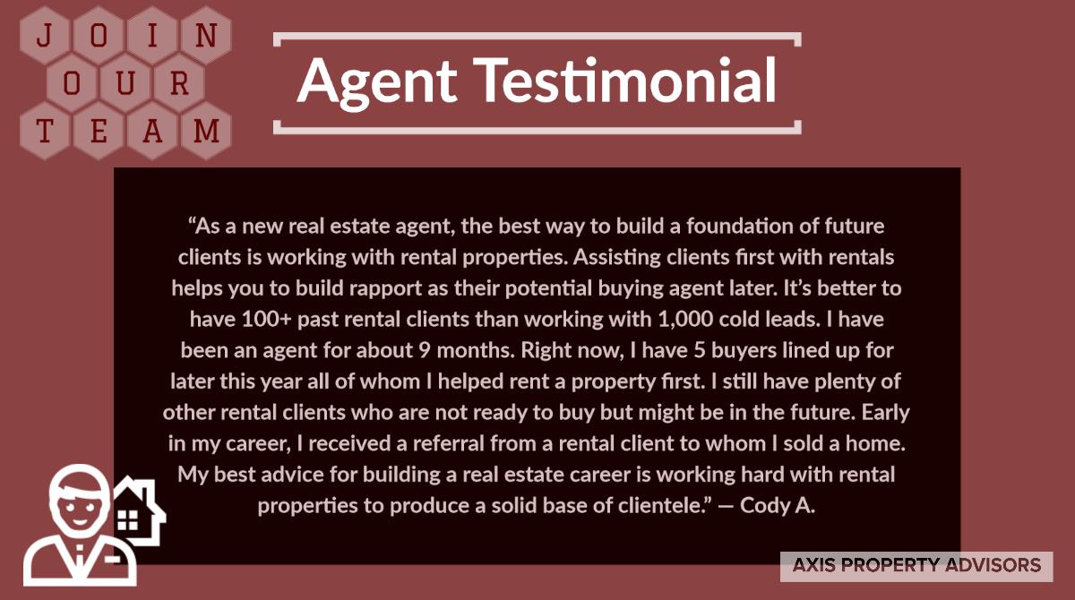 Agent Testimonial: Cody A.
