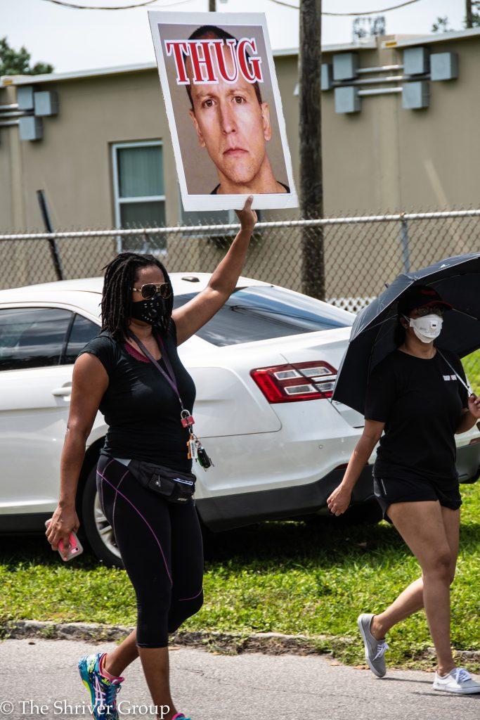 Protest Walk - Tampa 2020