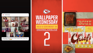 kansas city chiefs instagram reels video example