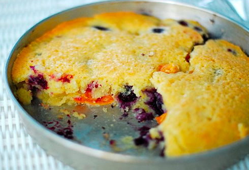 Apricot-Blueberry Cake