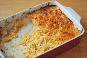 Mac & Cheese with Leeks