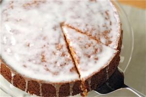 Meyer Lemon Almond Cake