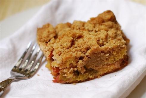 Rhubarb Coffee Cake