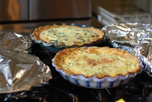 quiches warming