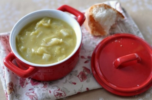 Cabbage Split Pea Soup