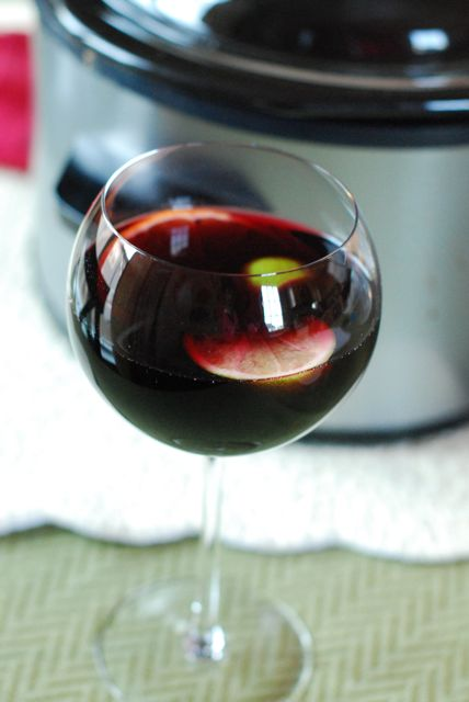 Slow Cooker Sangria   The Naptime Chef