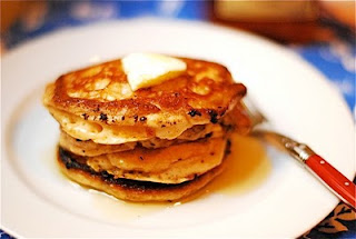 Homemade Pancakes with Butter