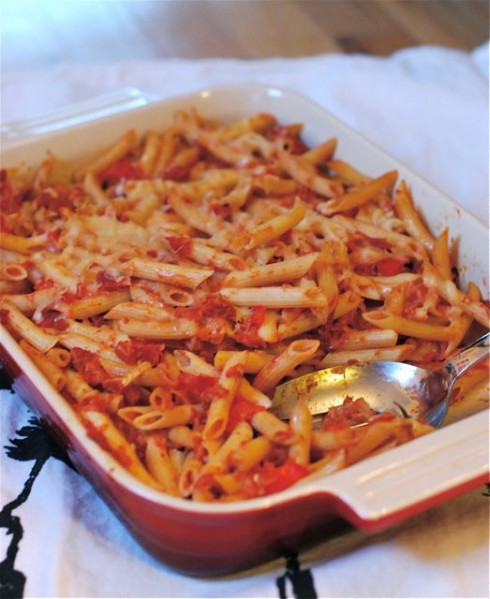 Weelicious Baked Ziti via The Naptime Chef