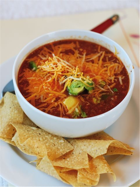 Slow Cooker Tortilla Soup via The Naptime Chef