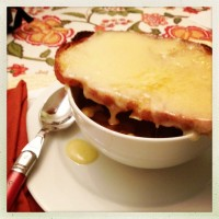 Apple Cider French Onion Soup via The Naptime Chef