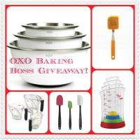 OXO Baking Boss Giveaway via The Naptime Chef