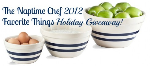 Naptime Chef 2012 Holiday Giveaway!