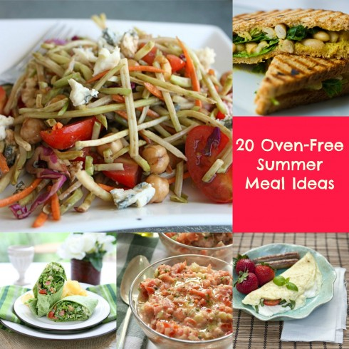20 Oven Free Meal Ideas